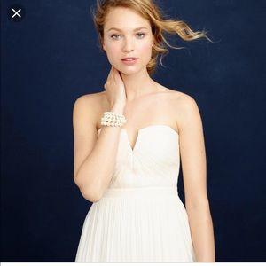 JCrew Nadia dress in silk chiffon